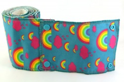 Family Cloth Roll - Rainbows (Cotton & Bamboo Terry)